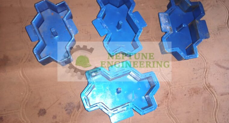 Cabro block moulds